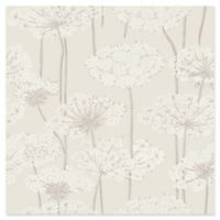 Ingrid Dandelion Meadow Wallpaper in Beige