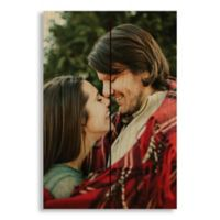 Designs Direct Photo Upload 7-Inch x 10.5-Inch Pallet Wood Wall Art
