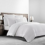 Kassatex Mercer Garment-Washed King Duvet Cover in White