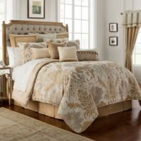 Waterford® Ansonia Reversible Queen Comforter Set in Ivory
