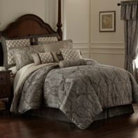 Rose Tree Portici Queen Comforter Set in Pewter