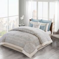 Echo™ Larissa Full/Queen Duvet Cover Set in Blue