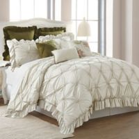 Pacific Coast Textiles Caroline Queen Comforter Set in Sand
