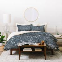 Deny Designs Heather Dutton Botanical Queen Duvet Cover Set in Blue