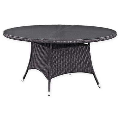 Modway Convene 59 Inch Round Outdoor Dining Table