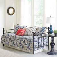 Madison Park Lucy Reversible Daybed Set in Navy