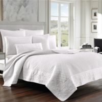 J. Queen New York™ Zilara Full/Queen Coverlet in White