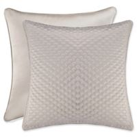 J. Queen New York™ Zilara European Pillow Sham in Silver
