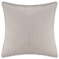 J. Queen New York™ Zilara Square Throw Pillow in Silver