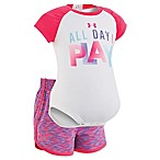 Under Armour® Size 0-3M 2-Piece All Day I Play Short Set