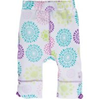 Posheez Size 12M Snap'n Grow Adjustable/Expandable Pant in Colorful Burst