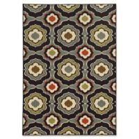 "Amaya Rugs Ansley 7'10"" x 10' Area Rug in Black"