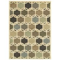 "Amaya Rugs Bentley 9'10"" x 12'10"" Area Rug in Ivory"