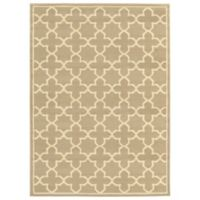 "Amaya Rugs Bentley 5'3"" x 7'3"" Area Rug in Tan"