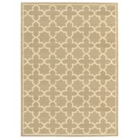 "Amaya Rugs Bentley 9'10"" x 12'10"" Area Rug in Tan"
