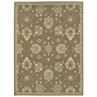 "Amaya Rugs Bentley 5'3"" x 7'3"" Area Rug in Brown"
