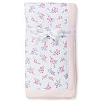 Little Me® Roses Reversible Stroller Blanket