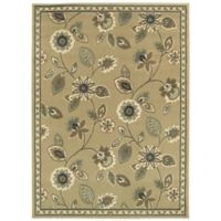 "Amaya Rugs Bentley 5'3"" x 7'3"" Area Rug in Stone"