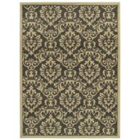 "Amaya Rugs Bentley 7'10"" x 10' Area Rug in Charcoal"
