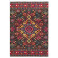 "Oriental Weavers Bohemian 5'3"" x 7'6"" Area Rug in Charcoal"