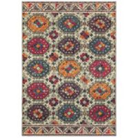 "Oriental Weavers Bohemian 3'10"" x 5'5"" Area Rug in Grey"