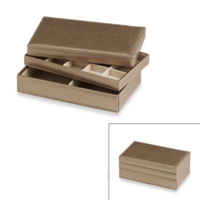 Buy Stackable Jewelry Box from Bed Bath Beyond