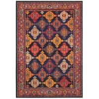 "Oriental Weavers Bohemian 3'10"" x 5'5"" Area Rug in Navy"