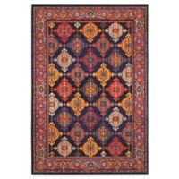 "Oriental Weavers Bohemian 5'3"" x 7'6"" Area Rug in Navy"
