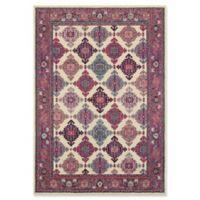 """Oriental Weavers Bohemian 5'3"""" x 7'6"""" Area Rug in Ivory"""