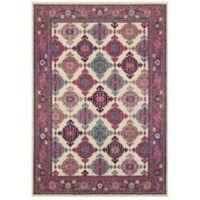 """Oriental Weavers Bohemian 7'10"""" x 10'10"""" Area Rug in Ivory"""