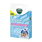 Vicks® 12-Count Sleepy Time Lavender/Rosemary Vaporizer Refill Pads