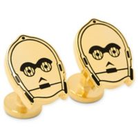 Star Wars® Gold Plated C3PO Cufflinks