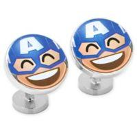 Marvel® Captain America Emoji Cufflinks