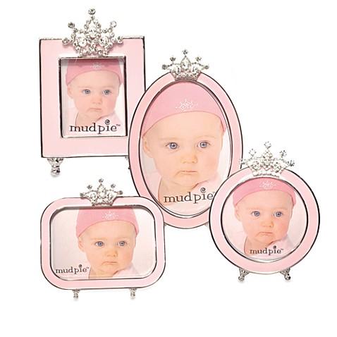 Mud Pie™ Little Princess Jeweled Crown Pink Frames - buybuy BABY