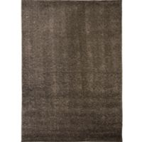 "Home Dynamix Synergy by Nicole Miller Solid 3'3"" x 4'3"" Accent Rug in Dark Grey"