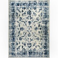 "Home Dynamix Vintage Ivy 2'2"" x 3'11"" Accent Rug in Grey/Blue"