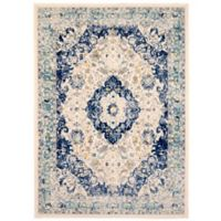"Home Dynamix Vintage Medallion 7'9"" x 10'2"" Area Rug in Ivory"