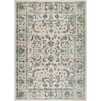 "Home Dynamix Vintage Border 2'2"" x 6'11"" Runner in Ivory"