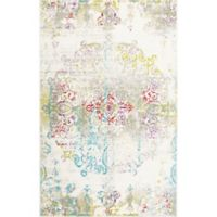 "Home Dynamix Boho Medallion 5'2"" x 7'2"" Area Rug in Ivory/Multi"
