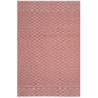 Safavieh Montauk 6' x 9' Althea Rug in Red
