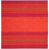 Safavieh Montauk 6' x 6' Ilissa Rug in Orange