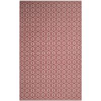Safavieh Montauk 4' x 6' Ashley Rug in Red