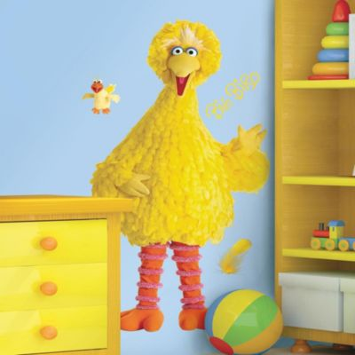 Wall Decor U003e RoomMates Sesame Street Giant Big Bird Wall Decal