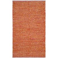 Safavieh Montauk 4' x 6' Alya Rug in Orange