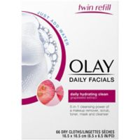 Olay® 66-Count 2-In-1 Daily Facial Cleanser Cloths for Normal Skin