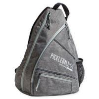 Franklin® Sports Pickleball X-Elite Performance Sling Bag in Grey