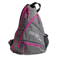 Franklin® Sports Pickleball X-Elite Performance Sling Bag in Grey/Pink