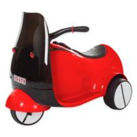 Lil' Rider Battery-Operated Ride-On 3-Wheeled Motorcycle in Red