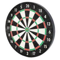 Franklin® Sports 18-Inch Pro Wire Bristle Dartboard in Black/White
