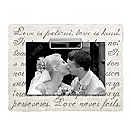 Grasslands Road 4-Inch x 6-Inch Corinthians Wedding Clip Frame in White